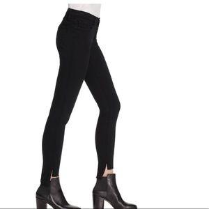 FRAME skinny de Jeanne raw stagger jeans